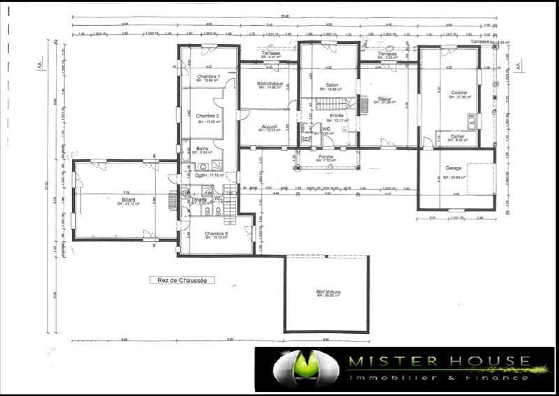 Sale house / villa Corbarieu 340000€ - Picture 3