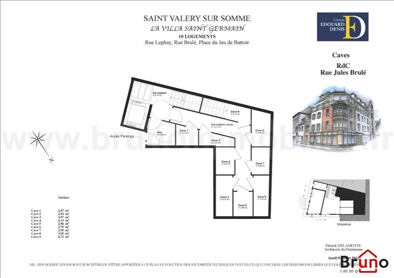 Revenda residencial de prestígio apartamento St valery sur somme 450000€ - Fotografia 6
