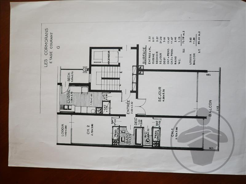 Vente appartement St jean de monts 224000€ - Photo 3