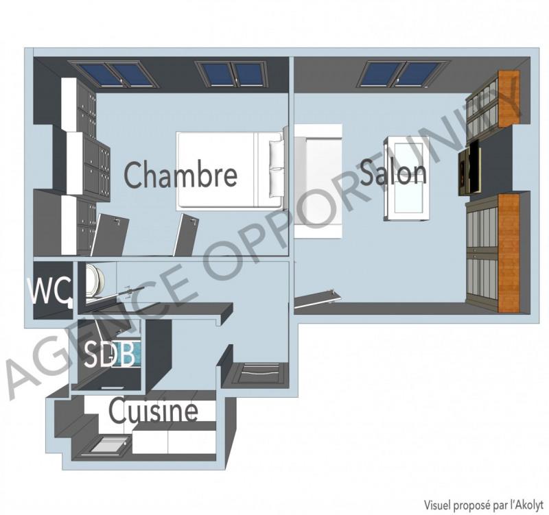 Vente appartement Paris 11ème 420000€ - Photo 3