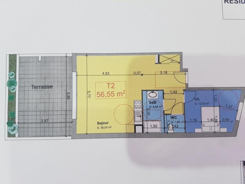 Vente appartement St raphael 250000€ - Photo 2