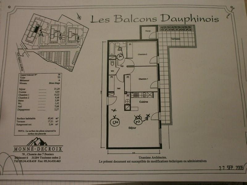 Sale apartment La verpilliere 157000€ - Picture 3