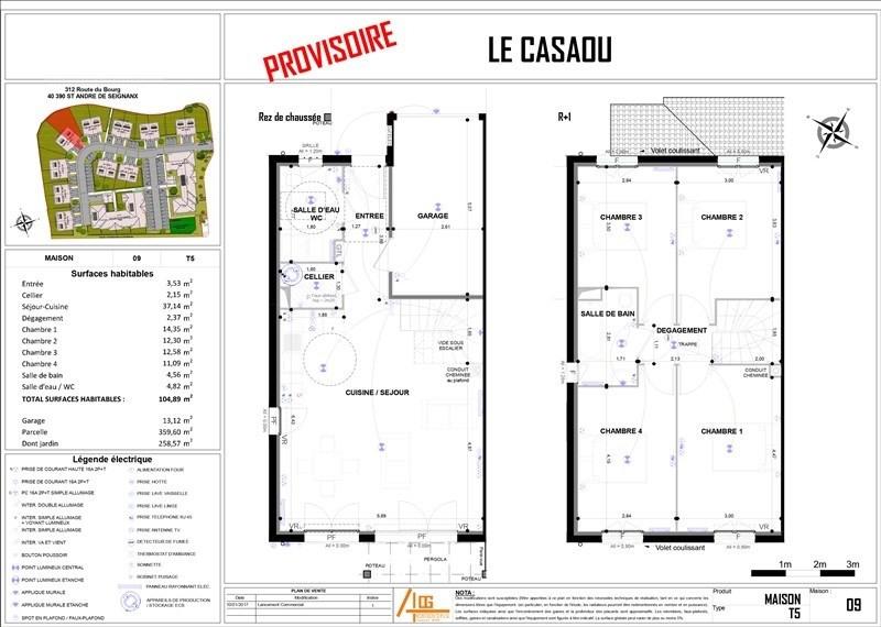 Vente maison / villa St andre de seignanx 248000€ - Photo 4