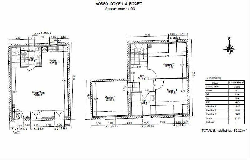 Sale apartment Coye la foret 321321€ - Picture 5