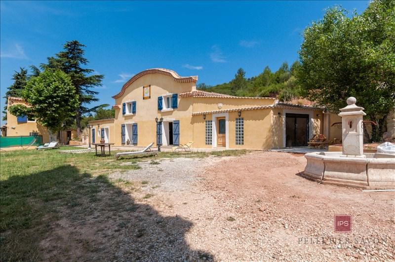 Vente de prestige maison / villa Meyreuil 1155000€ - Photo 1