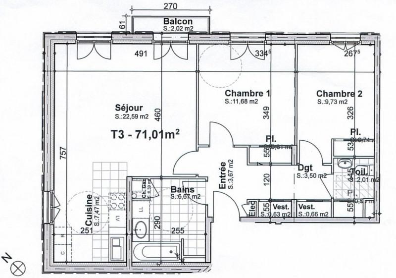 Vente appartement Senlis 375000€ - Photo 1