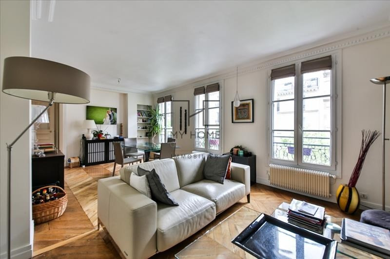 Sale apartment Paris 17ème 860 000€ - Picture 1