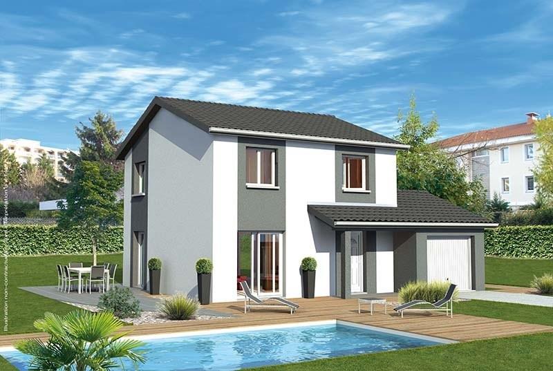Maison  5 pièces + Terrain 777 m² Frans par Primareve