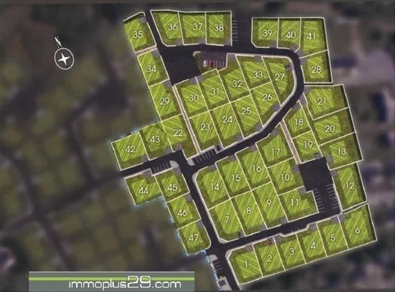 Vente terrain Ploneour lanvern 49000€ - Photo 1
