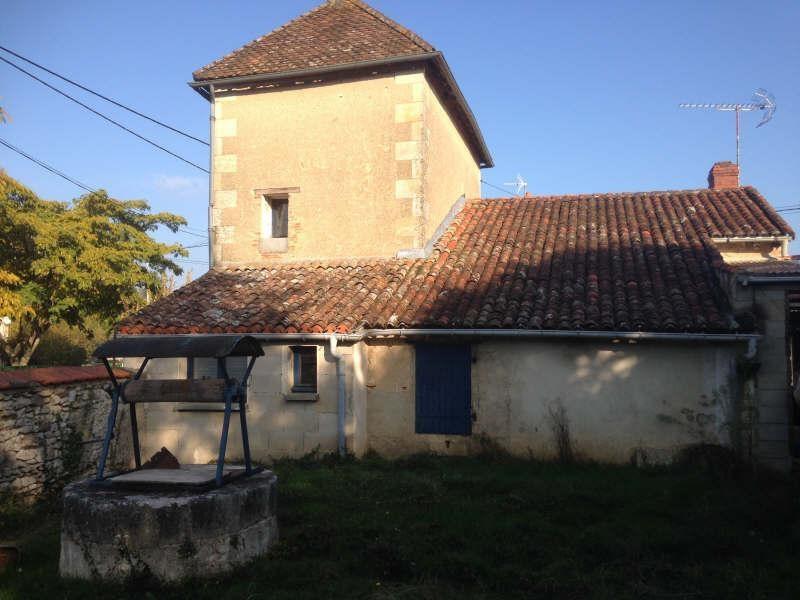 Vente maison / villa Mazerolles 49500€ - Photo 1