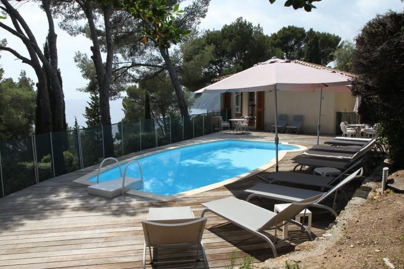 Location vacances maison / villa Cavalaire sur mer 1500€ - Photo 9