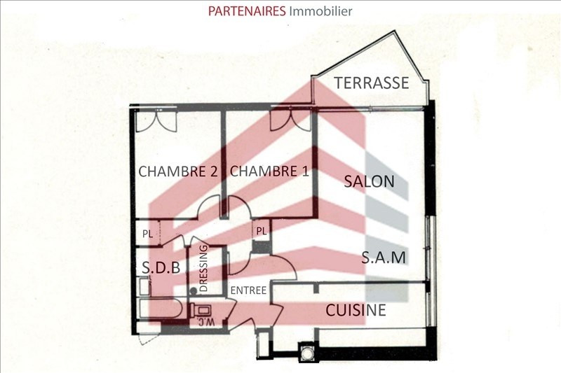 Vente appartement Le chesnay 288 000€ - Photo 6