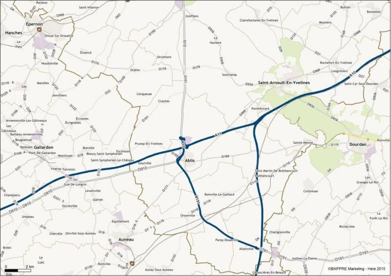 Location Local d'activités / Entrepôt Ablis 0