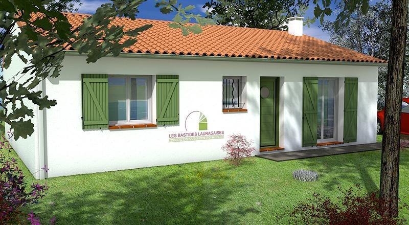 Maison  3 pièces + Terrain 442 m² Baziège (31450) par LES BASTIDES LAURAGAISES