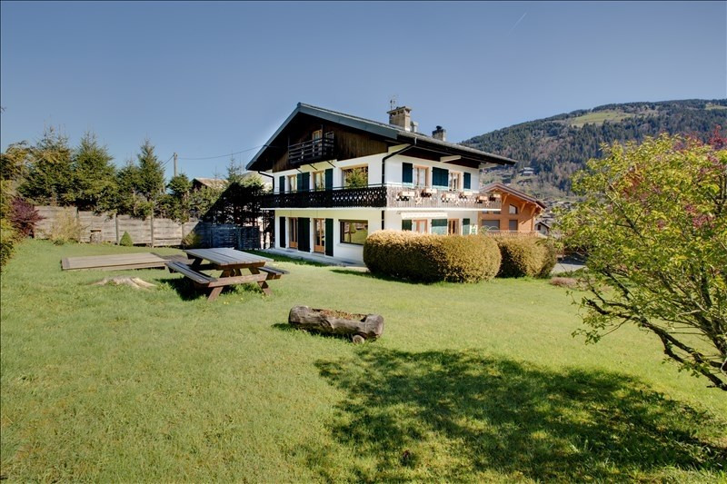 Deluxe sale house / villa Morzine 1198000€ - Picture 1