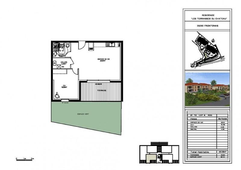 Vente appartement Frontonas 149000€ - Photo 3