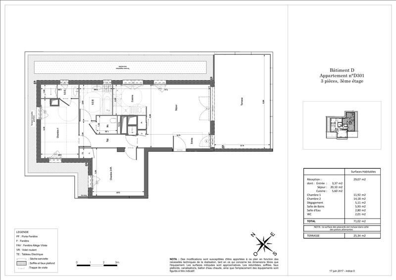 Vente appartement Ferney voltaire 426000€ - Photo 2