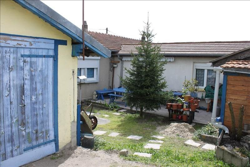 Venta  casa Le peage de roussillon 136000€ - Fotografía 5