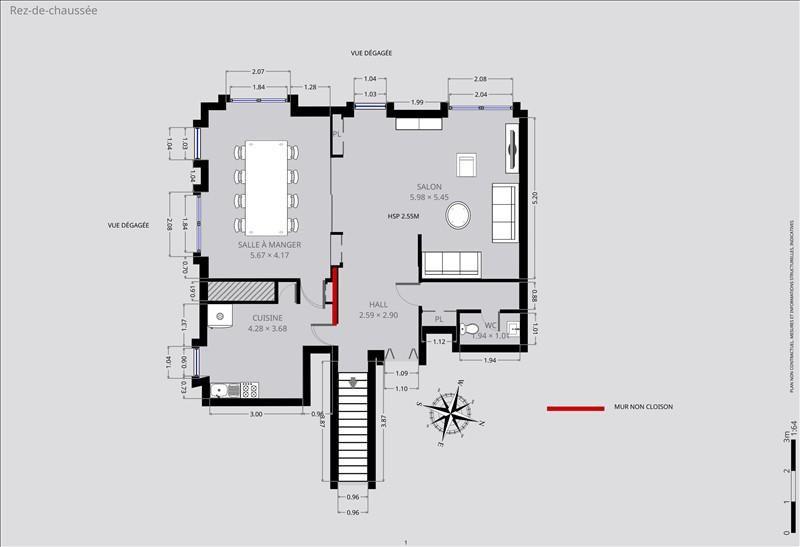 Deluxe sale apartment Paris 15ème 1369000€ - Picture 9