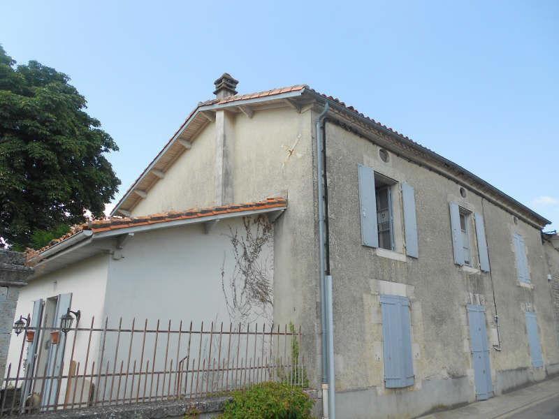 Vente maison / villa Tusson 118000€ - Photo 1