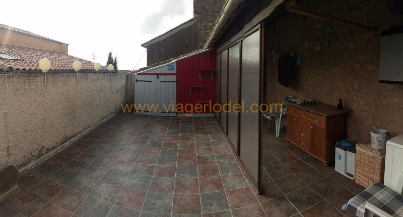 Life annuity house / villa Montouliers 35 000€ - Picture 1