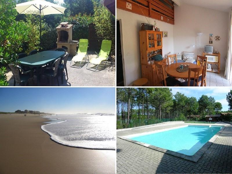 Location vacances maison / villa Lacanau ocean 285€ - Photo 1