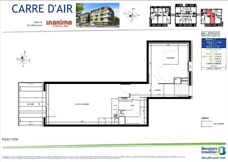 Rental apartment Aix les bains 647€ CC - Picture 2