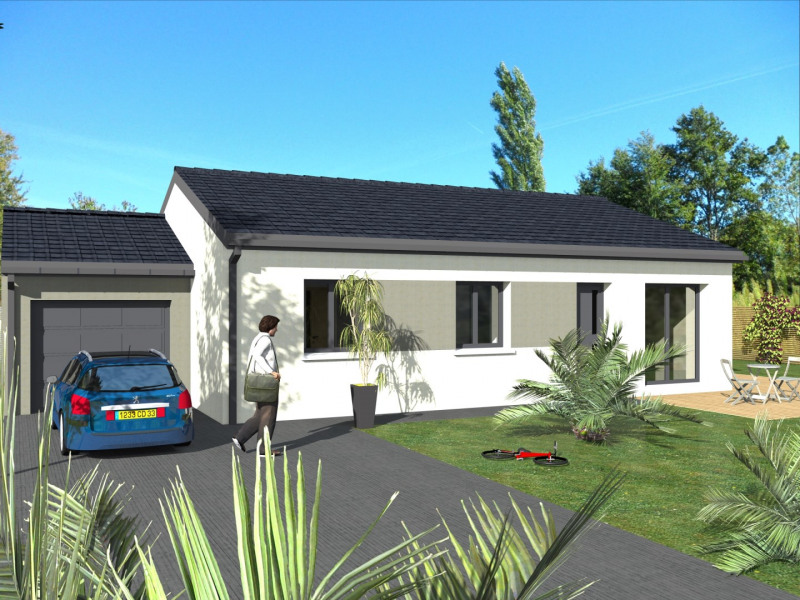 Maison  5 pièces + Terrain 610 m² Chuzelles par MAISONS SMILE