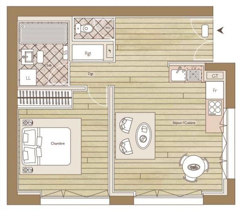 Vente appartement Nancy 239900€ - Photo 7