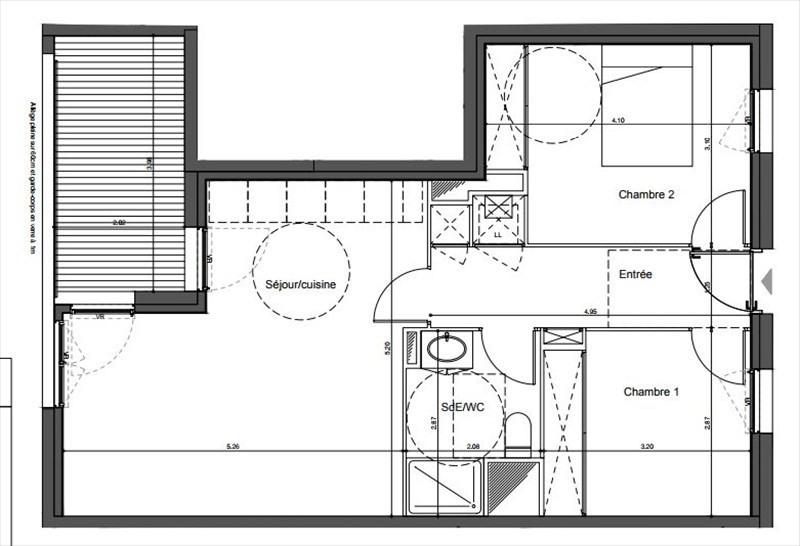 Vente appartement 3 pi ce s bordeaux 56 85 m avec 2 for Appartement bordeaux 200 000 euros