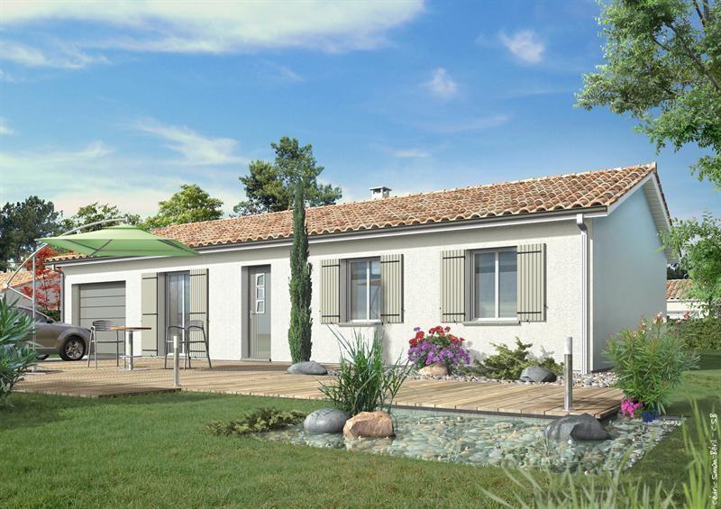 Maison  5 pièces + Terrain 500 m² Mont de Marsan (40000) par LES MAISONS LCA MONT DE MARSAN