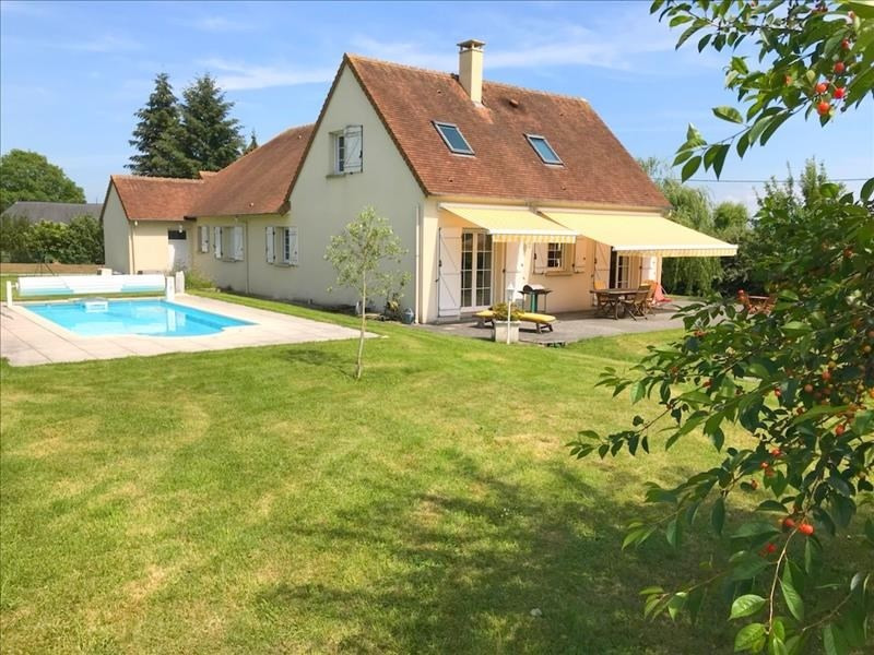 Vendita casa St martin aux chartrains 399500€ - Fotografia 1