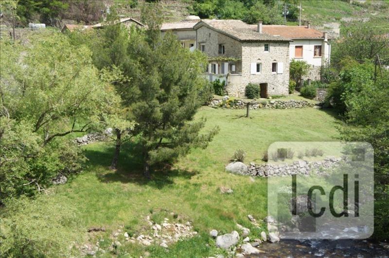Vente maison / villa Vals les bains 210000€ - Photo 1
