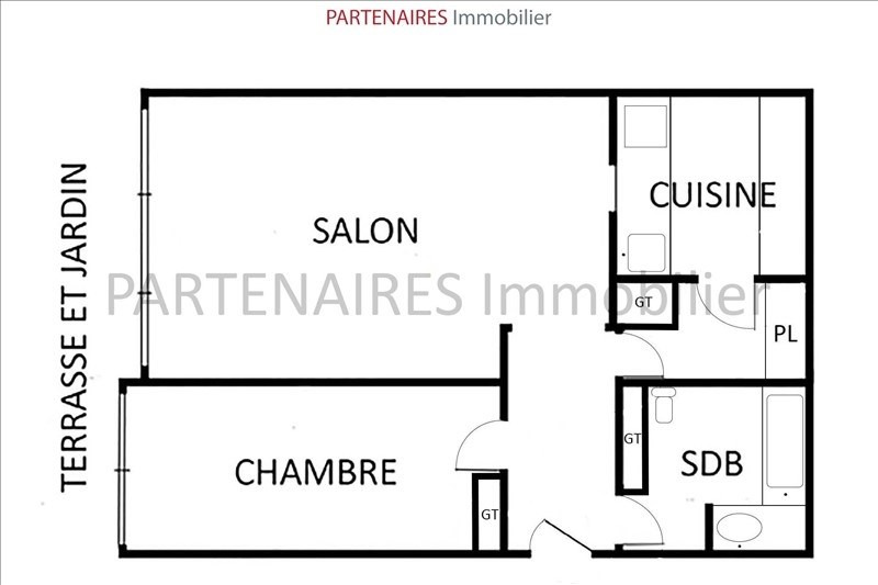 Sale apartment Rocquencourt 295 000€ - Picture 5