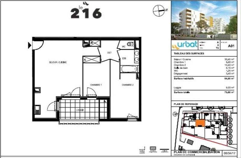Vente appartement Montpellier 193000€ - Photo 3
