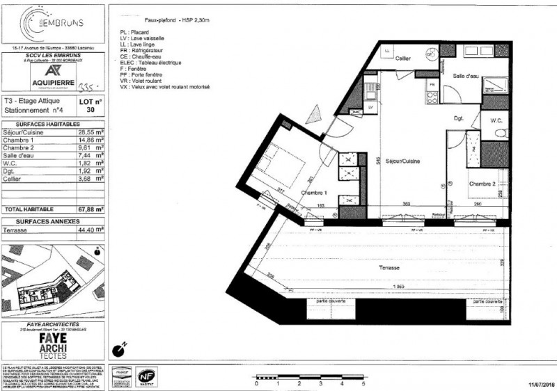 Vente appartement Lacanau ocean 335000€ - Photo 1
