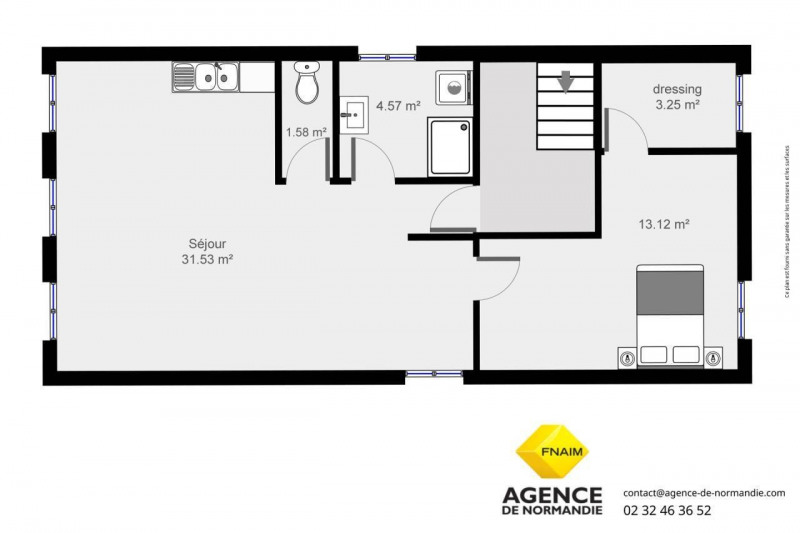 Location appartement Montreuil-l'argille 355€ CC - Photo 5