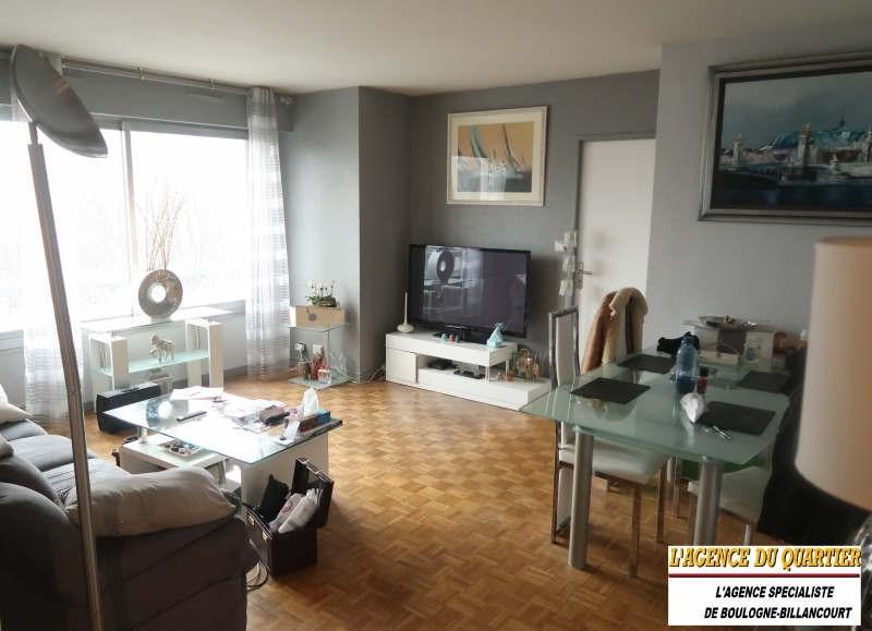 Locação apartamento Boulogne billancourt 1600€ CC - Fotografia 1