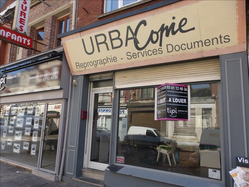 Location local commercial Bethune 1250€ +CH/ HT - Photo 1