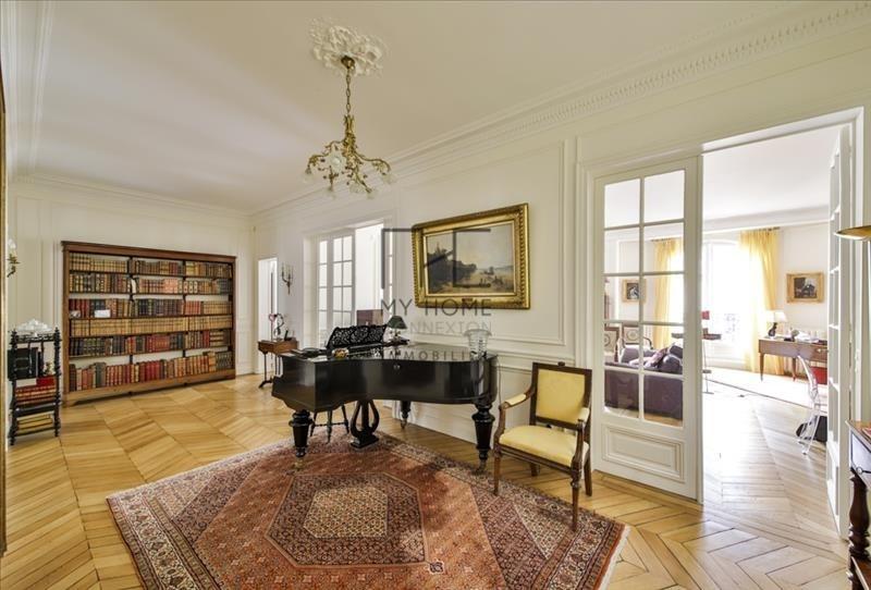Deluxe sale apartment Paris 17ème 2940000€ - Picture 1