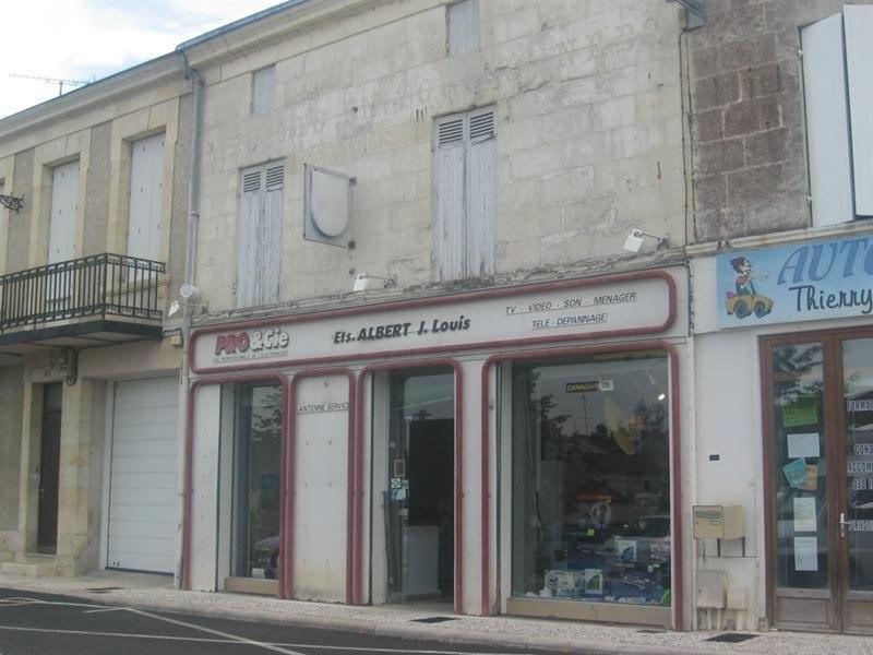 Sale building Montguyon 59000€ - Picture 1