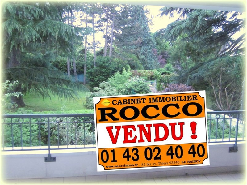 Vente appartement Le raincy 382000€ - Photo 1