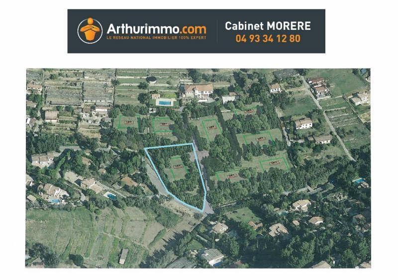 Vente terrain Antibes 470000€ - Photo 2