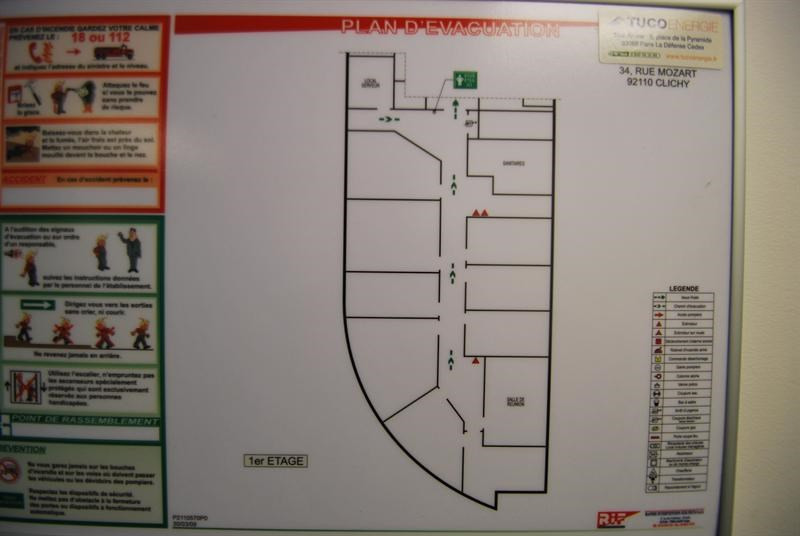 Location Bureau Clichy 0