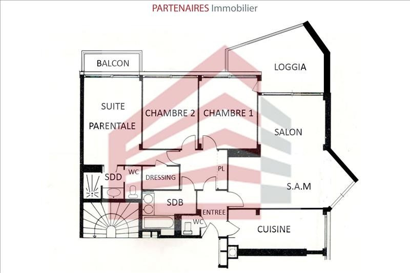 Vente appartement Le chesnay 426 000€ - Photo 10