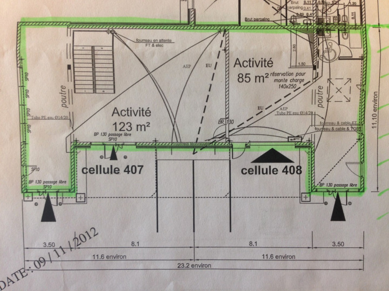 Location local commercial Herblay 4350€ HT/HC - Photo 3