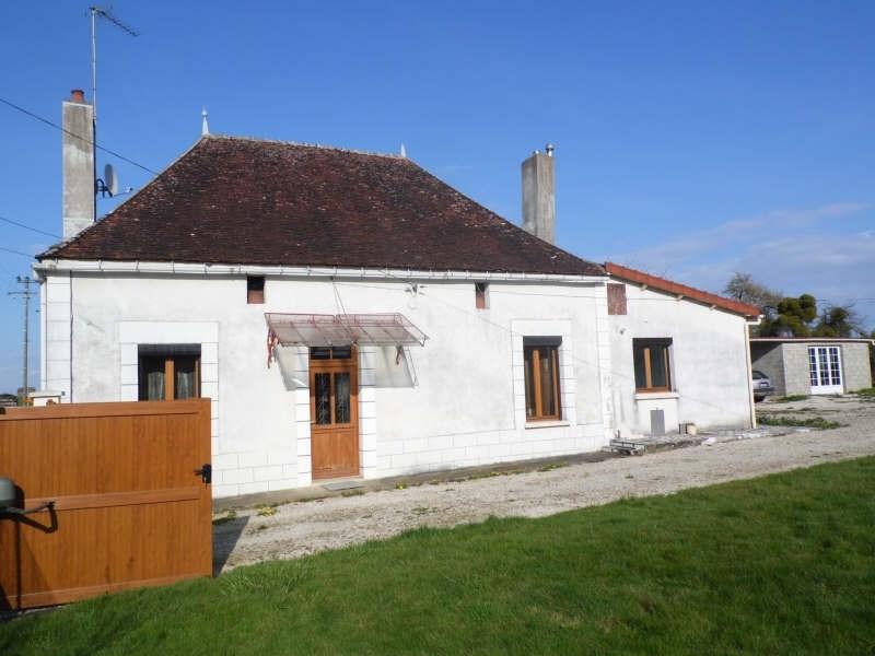 Vente maison / villa Flogny la chapelle 127000€ - Photo 1
