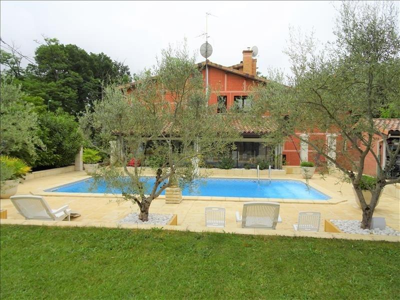 Vente de prestige maison / villa Aussonne 540800€ - Photo 1