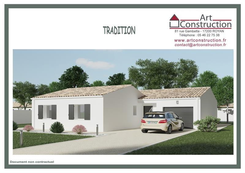Maison  4 pièces + Terrain 341 m² Royan par ART CONSTRUCTION