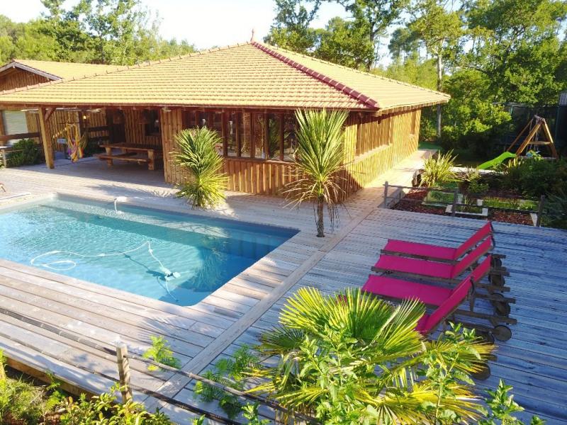 Venta de prestigio  casa Lacanau 501600€ - Fotografía 12